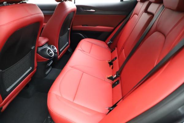 New 2021 Alfa Romeo Stelvio Ti Q4 for sale $55,500 at Bugatti of Greenwich in Greenwich CT 06830 19
