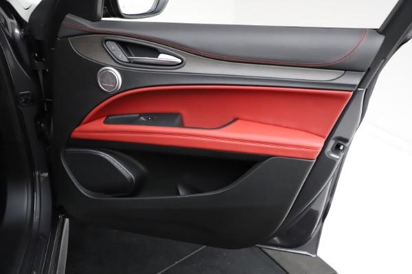 New 2021 Alfa Romeo Stelvio Ti Q4 for sale $55,500 at Bugatti of Greenwich in Greenwich CT 06830 23