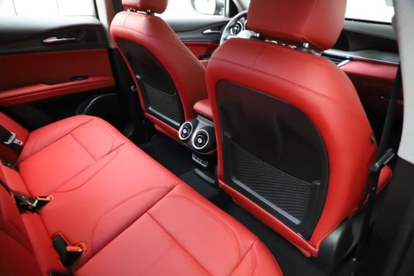 New 2021 Alfa Romeo Stelvio Ti Q4 for sale $55,500 at Bugatti of Greenwich in Greenwich CT 06830 24