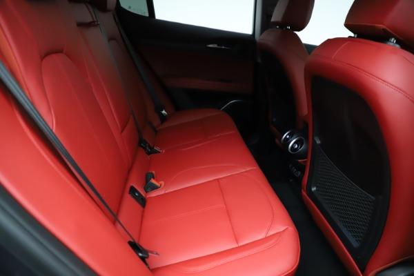New 2021 Alfa Romeo Stelvio Ti Q4 for sale $55,500 at Bugatti of Greenwich in Greenwich CT 06830 25