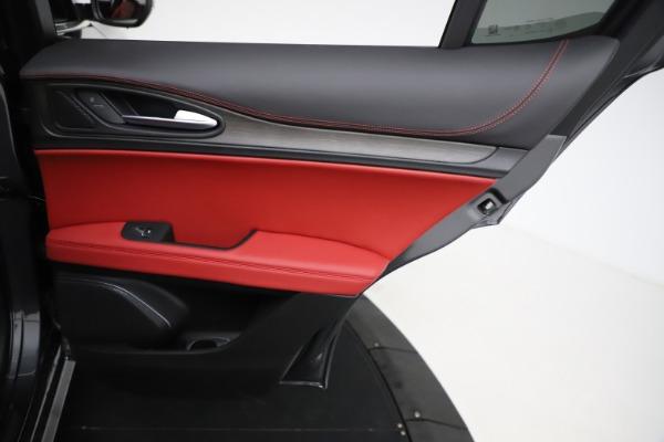 New 2021 Alfa Romeo Stelvio Ti Q4 for sale $55,500 at Bugatti of Greenwich in Greenwich CT 06830 26