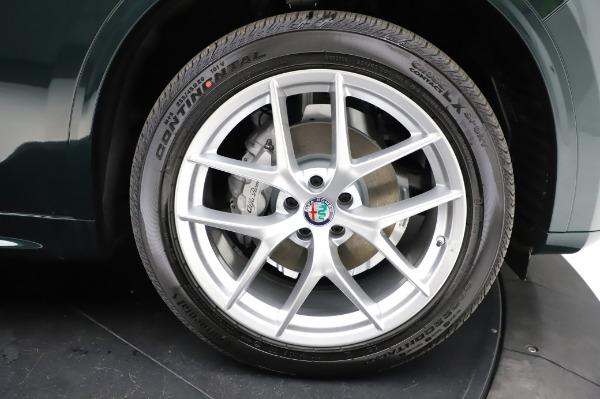 New 2021 Alfa Romeo Stelvio Ti Q4 for sale Sold at Bugatti of Greenwich in Greenwich CT 06830 26