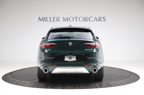 New 2021 Alfa Romeo Stelvio Ti Q4 for sale Sold at Bugatti of Greenwich in Greenwich CT 06830 7