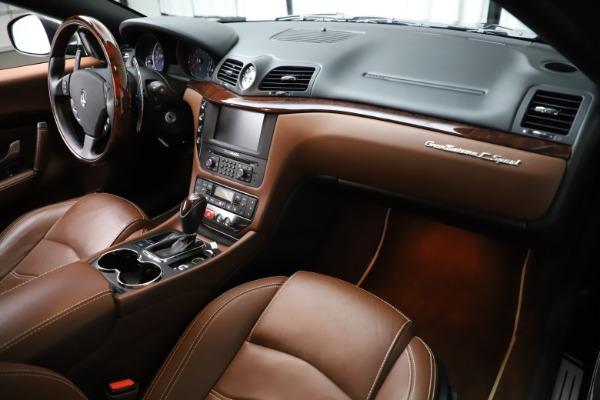 Used 2013 Maserati GranTurismo Sport for sale Sold at Bugatti of Greenwich in Greenwich CT 06830 18