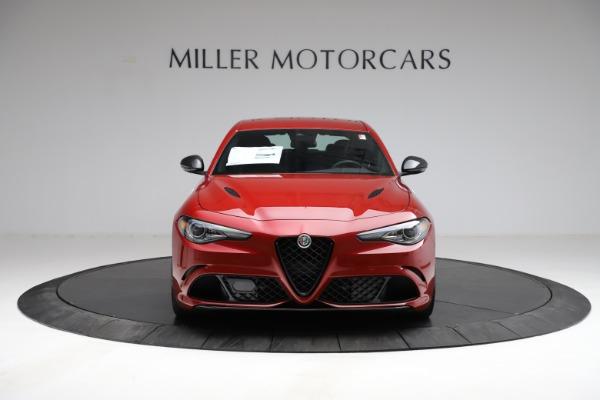 New 2021 Alfa Romeo Giulia Quadrifoglio for sale $83,740 at Bugatti of Greenwich in Greenwich CT 06830 10