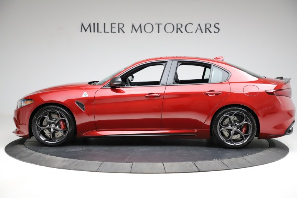 New 2021 Alfa Romeo Giulia Quadrifoglio for sale $83,740 at Bugatti of Greenwich in Greenwich CT 06830 2