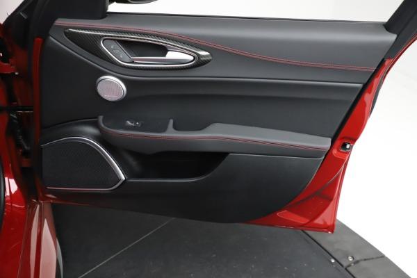 New 2021 Alfa Romeo Giulia Quadrifoglio for sale $83,740 at Bugatti of Greenwich in Greenwich CT 06830 24