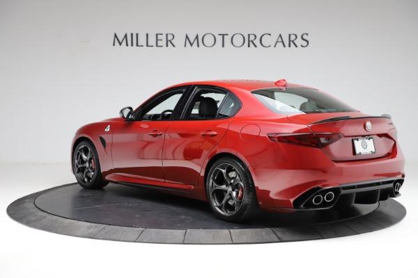 New 2021 Alfa Romeo Giulia Quadrifoglio for sale $83,740 at Bugatti of Greenwich in Greenwich CT 06830 3