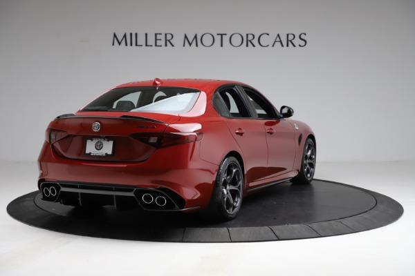 New 2021 Alfa Romeo Giulia Quadrifoglio for sale $83,740 at Bugatti of Greenwich in Greenwich CT 06830 5