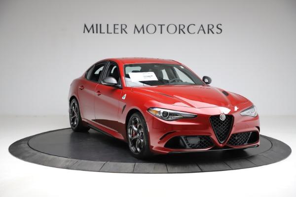 New 2021 Alfa Romeo Giulia Quadrifoglio for sale $83,740 at Bugatti of Greenwich in Greenwich CT 06830 9