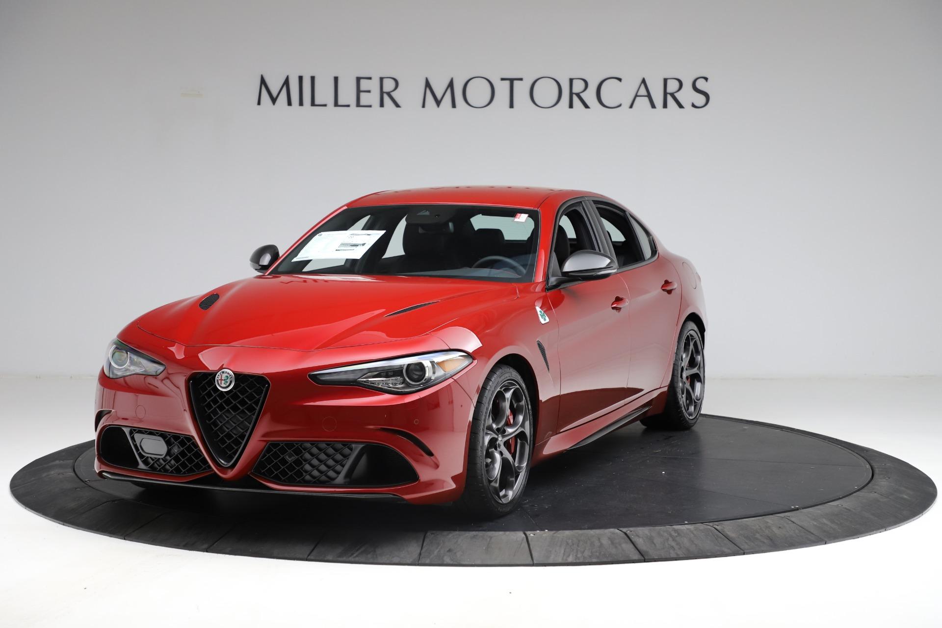 New 2021 Alfa Romeo Giulia Quadrifoglio for sale $83,740 at Bugatti of Greenwich in Greenwich CT 06830 1