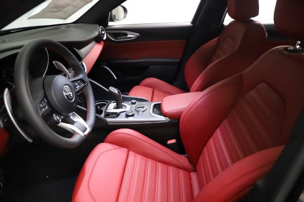 New 2021 Alfa Romeo Giulia Ti Sport for sale $54,050 at Bugatti of Greenwich in Greenwich CT 06830 13