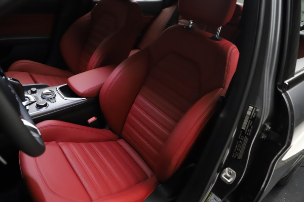 New 2021 Alfa Romeo Giulia Ti Sport for sale $54,050 at Bugatti of Greenwich in Greenwich CT 06830 14