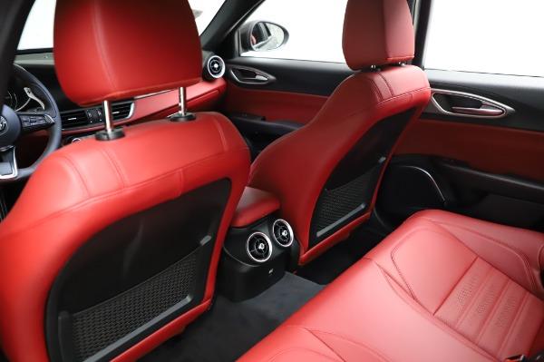 New 2021 Alfa Romeo Giulia Ti Sport for sale $54,050 at Bugatti of Greenwich in Greenwich CT 06830 17