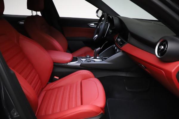 New 2021 Alfa Romeo Giulia Ti Sport for sale $54,050 at Bugatti of Greenwich in Greenwich CT 06830 22