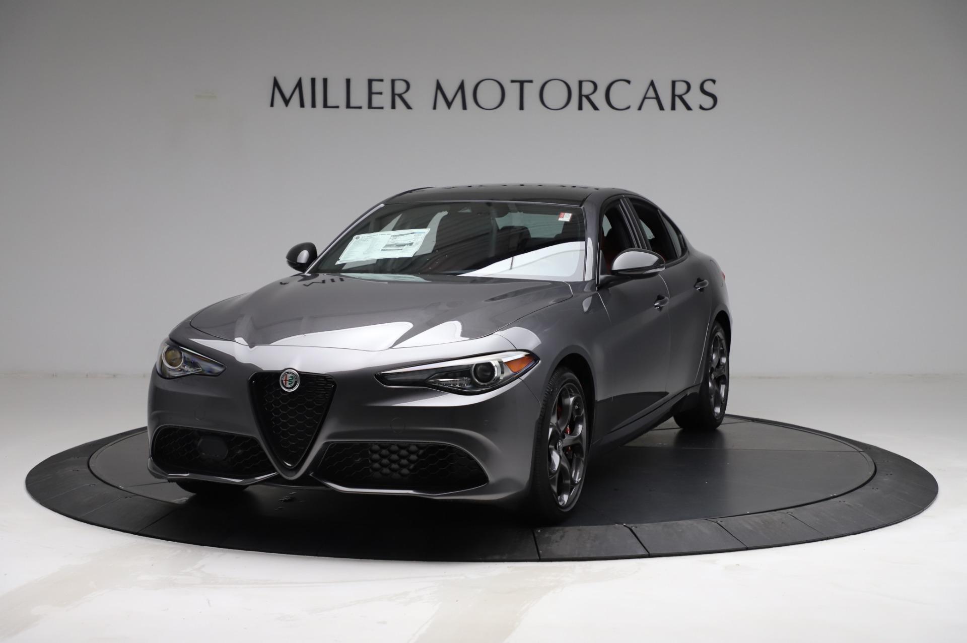 New 2021 Alfa Romeo Giulia Ti Sport for sale $54,050 at Bugatti of Greenwich in Greenwich CT 06830 1