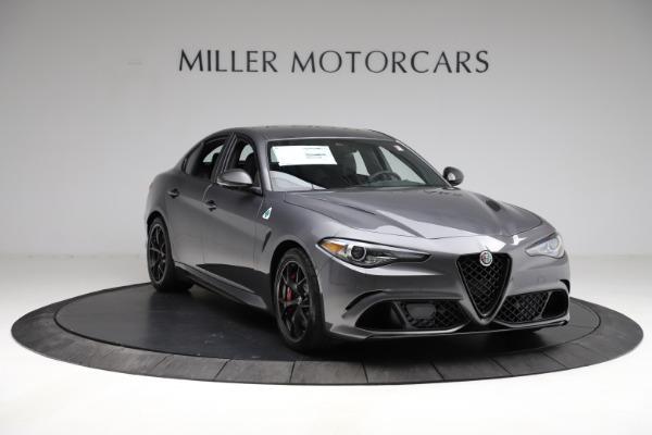 New 2021 Alfa Romeo Giulia Quadrifoglio for sale $83,200 at Bugatti of Greenwich in Greenwich CT 06830 10