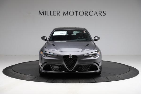 New 2021 Alfa Romeo Giulia Quadrifoglio for sale $83,200 at Bugatti of Greenwich in Greenwich CT 06830 11
