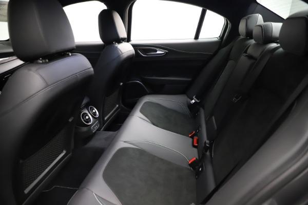 New 2021 Alfa Romeo Giulia Quadrifoglio for sale $83,200 at Bugatti of Greenwich in Greenwich CT 06830 18
