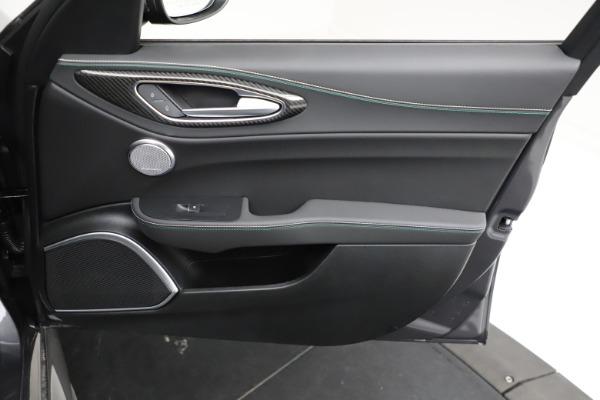 New 2021 Alfa Romeo Giulia Quadrifoglio for sale $83,200 at Bugatti of Greenwich in Greenwich CT 06830 22