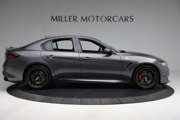 New 2021 Alfa Romeo Giulia Quadrifoglio for sale $83,200 at Bugatti of Greenwich in Greenwich CT 06830 8