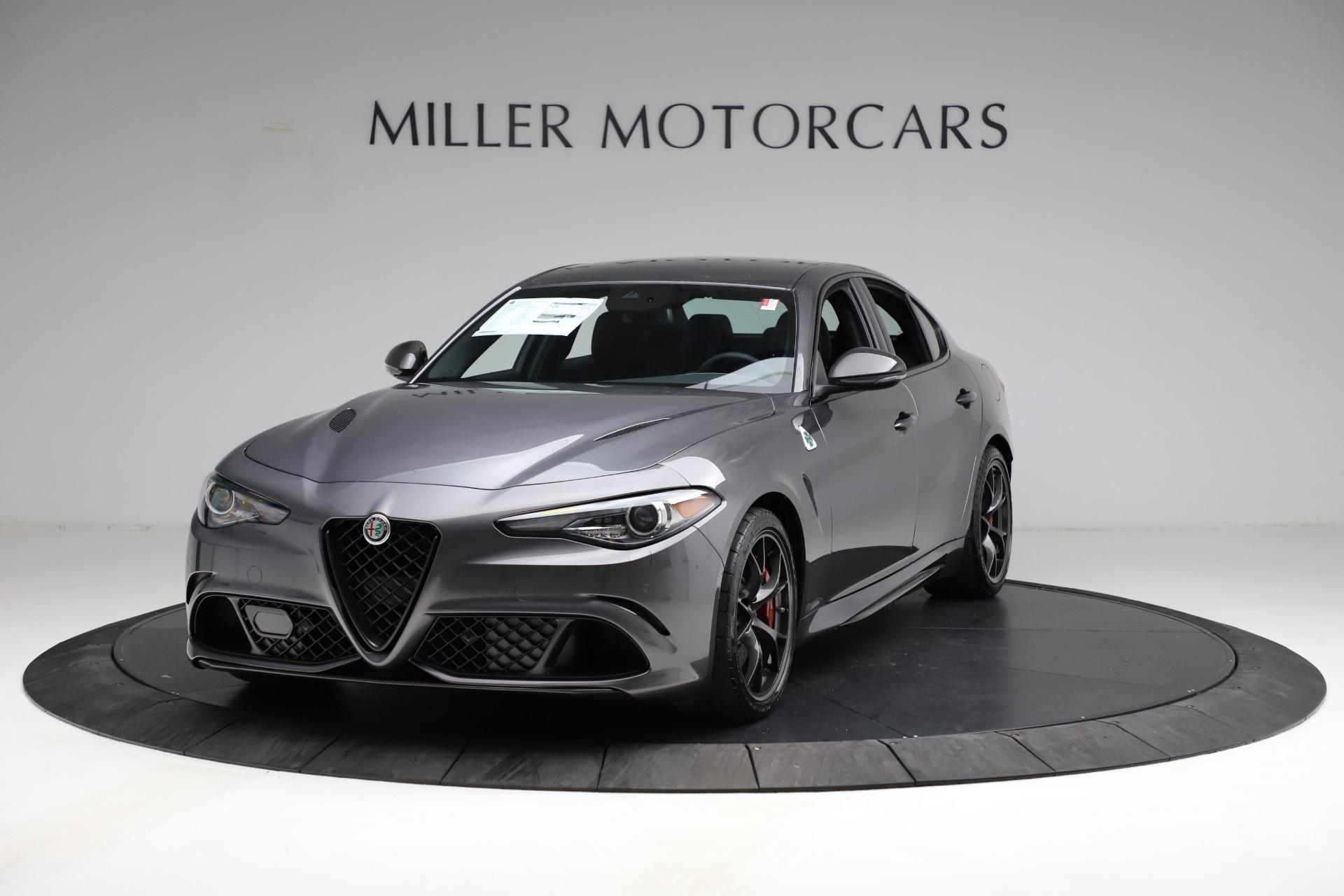 New 2021 Alfa Romeo Giulia Quadrifoglio for sale $83,200 at Bugatti of Greenwich in Greenwich CT 06830 1