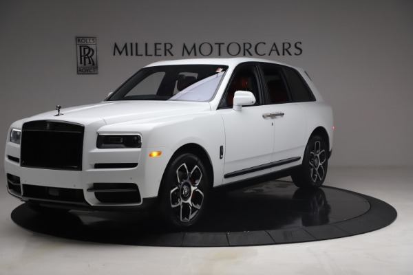 New 2021 Rolls-Royce Cullinan Black Badge for sale Call for price at Bugatti of Greenwich in Greenwich CT 06830 3