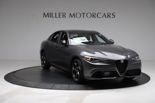 New 2021 Alfa Romeo Giulia Ti Sport for sale $54,050 at Bugatti of Greenwich in Greenwich CT 06830 10