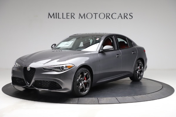 New 2021 Alfa Romeo Giulia Ti Sport for sale $54,050 at Bugatti of Greenwich in Greenwich CT 06830 2