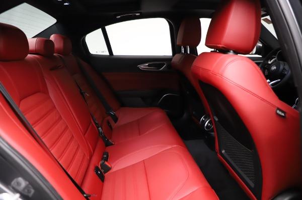 New 2021 Alfa Romeo Giulia Ti Sport for sale $54,050 at Bugatti of Greenwich in Greenwich CT 06830 24