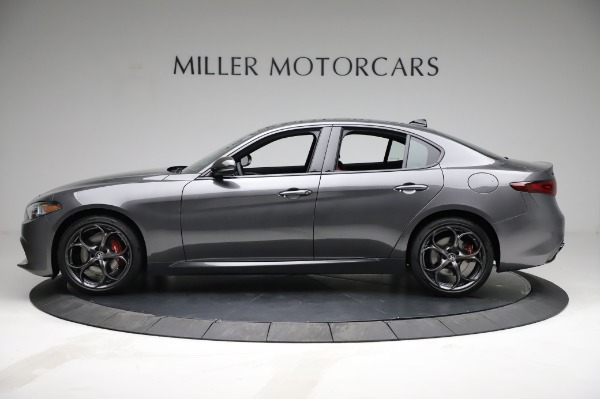 New 2021 Alfa Romeo Giulia Ti Sport for sale $54,050 at Bugatti of Greenwich in Greenwich CT 06830 3
