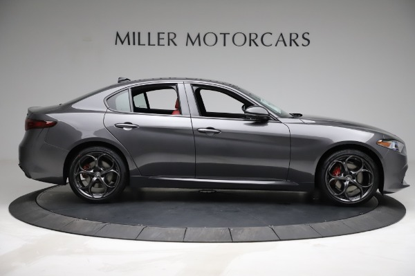 New 2021 Alfa Romeo Giulia Ti Sport for sale $54,050 at Bugatti of Greenwich in Greenwich CT 06830 8