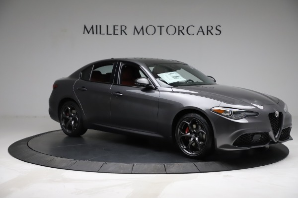 New 2021 Alfa Romeo Giulia Ti Sport for sale $54,050 at Bugatti of Greenwich in Greenwich CT 06830 9
