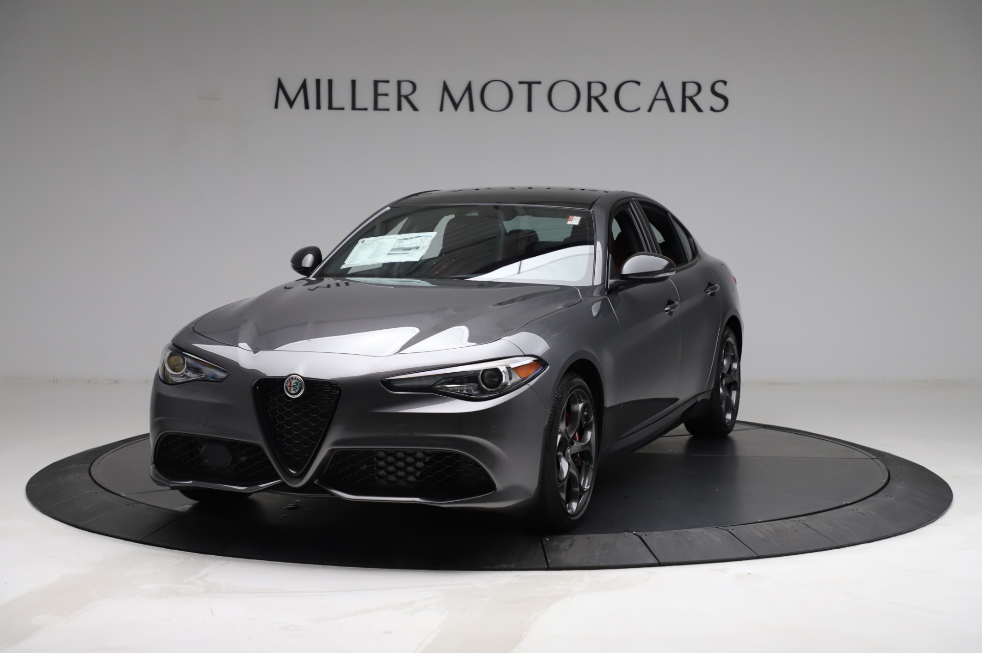 New 2021 Alfa Romeo Giulia Ti Sport for sale $54,050 at Bugatti of Greenwich in Greenwich CT 06830 1