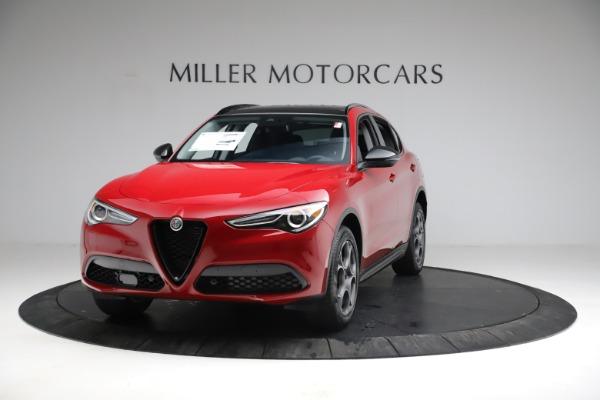 New 2021 Alfa Romeo Stelvio Sprint for sale $50,535 at Bugatti of Greenwich in Greenwich CT 06830 1
