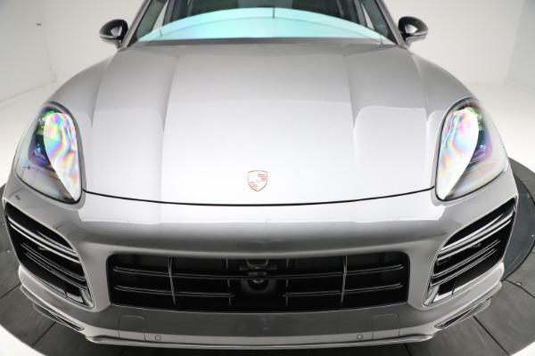 Used 2020 Porsche Cayenne Turbo for sale $145,900 at Bugatti of Greenwich in Greenwich CT 06830 14