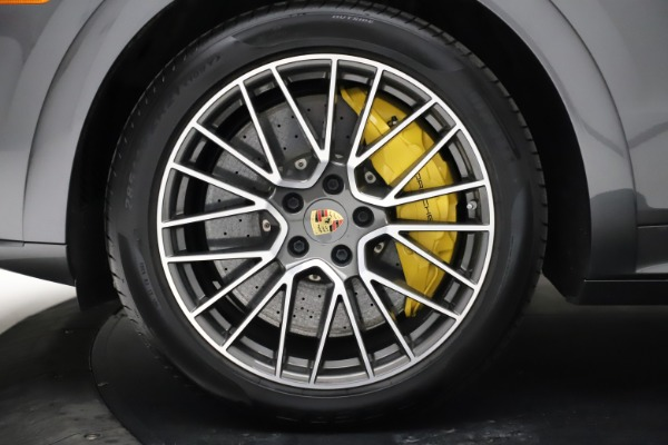 Used 2020 Porsche Cayenne Turbo for sale $145,900 at Bugatti of Greenwich in Greenwich CT 06830 16