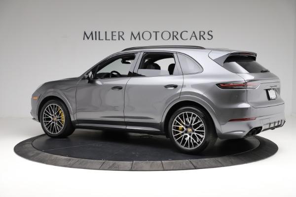 Used 2020 Porsche Cayenne Turbo for sale $145,900 at Bugatti of Greenwich in Greenwich CT 06830 4