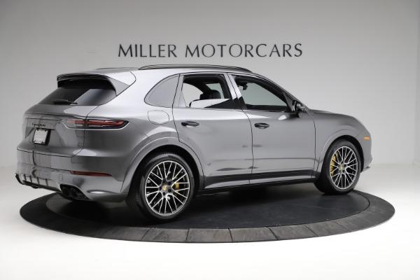 Used 2020 Porsche Cayenne Turbo for sale $145,900 at Bugatti of Greenwich in Greenwich CT 06830 9