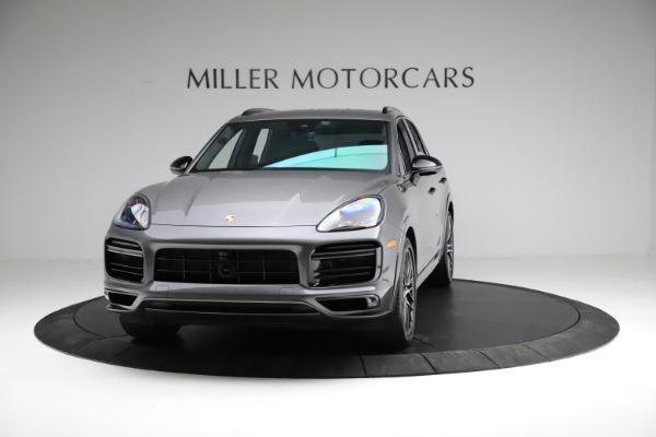 Used 2020 Porsche Cayenne Turbo for sale $145,900 at Bugatti of Greenwich in Greenwich CT 06830 1