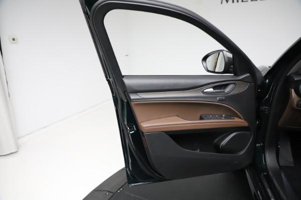 New 2021 Alfa Romeo Stelvio Ti for sale $53,650 at Bugatti of Greenwich in Greenwich CT 06830 18