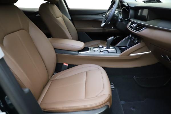 New 2021 Alfa Romeo Stelvio Ti for sale $53,650 at Bugatti of Greenwich in Greenwich CT 06830 21