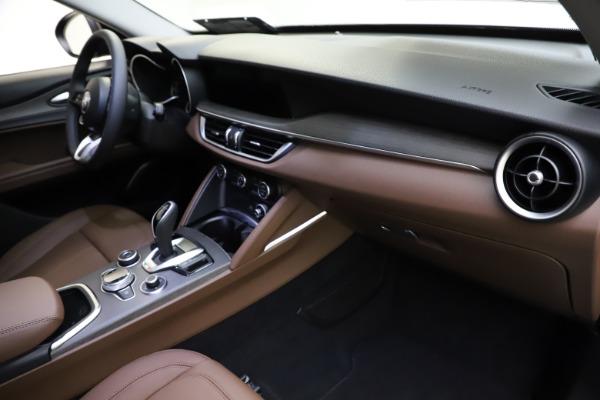 New 2021 Alfa Romeo Stelvio Ti for sale $53,650 at Bugatti of Greenwich in Greenwich CT 06830 22