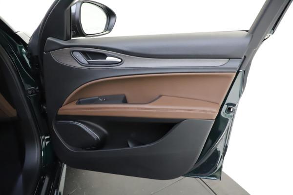 New 2021 Alfa Romeo Stelvio Ti for sale $53,650 at Bugatti of Greenwich in Greenwich CT 06830 23