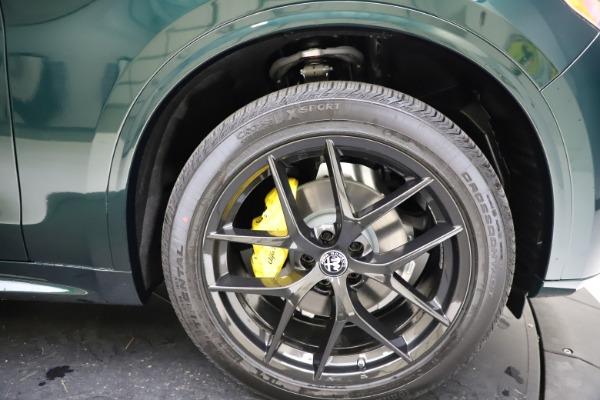 New 2021 Alfa Romeo Stelvio Ti for sale $53,650 at Bugatti of Greenwich in Greenwich CT 06830 26