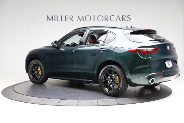 New 2021 Alfa Romeo Stelvio Ti for sale $53,650 at Bugatti of Greenwich in Greenwich CT 06830 4