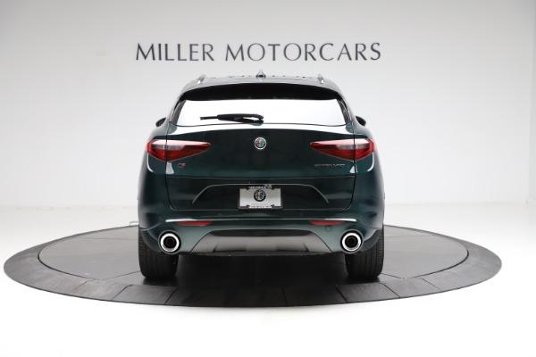 New 2021 Alfa Romeo Stelvio Ti for sale $53,650 at Bugatti of Greenwich in Greenwich CT 06830 6