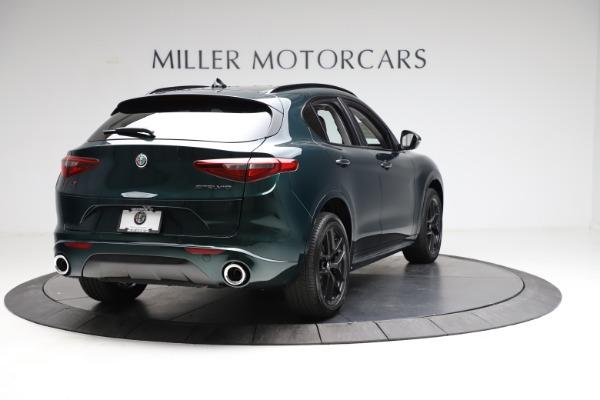 New 2021 Alfa Romeo Stelvio Ti for sale $53,650 at Bugatti of Greenwich in Greenwich CT 06830 7