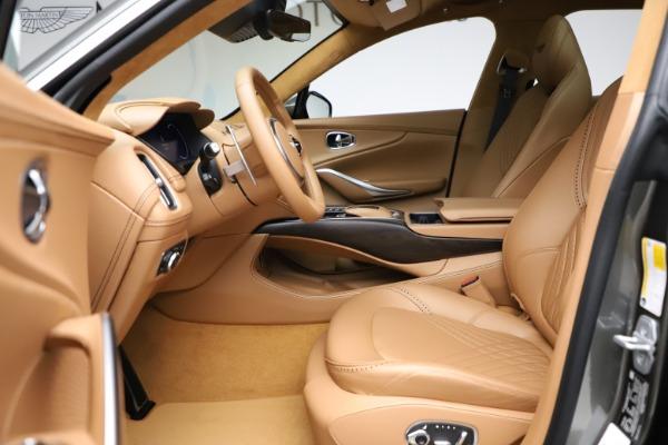 New 2021 Aston Martin DBX for sale $211,486 at Bugatti of Greenwich in Greenwich CT 06830 14