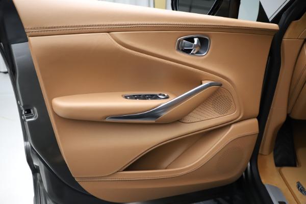 New 2021 Aston Martin DBX for sale $211,486 at Bugatti of Greenwich in Greenwich CT 06830 16
